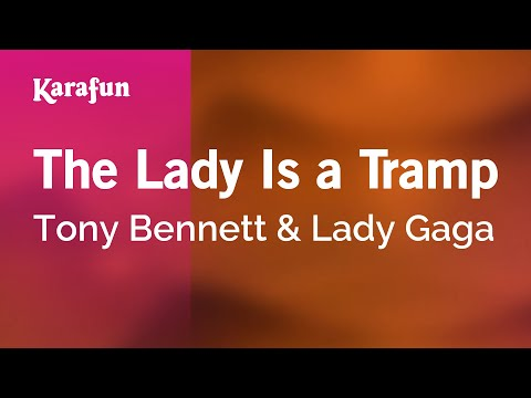 Karaoke The Lady Is a Tramp - Tony Bennett *