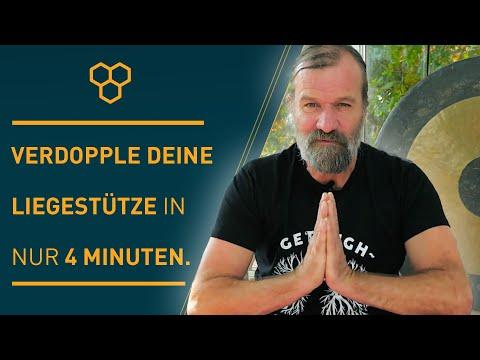 Die Kraft des Atmens von Wim Hof | Verdopple Deine Liegestütze in nur 4 Minuten.