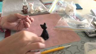 How To Make A Fondant Cat Tutorial Part 2