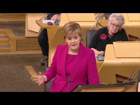 First Minister's Questions - Scottish Parliament: 29 June 2017