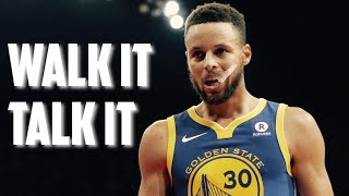 "Stephen Curry Highlights "" Walk It, Talk It "" (Clean)"