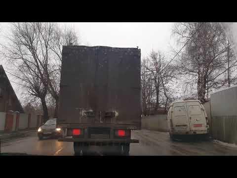 Носовихинское шоссе в час тайного визита губернатора Воробьева в Балашиху