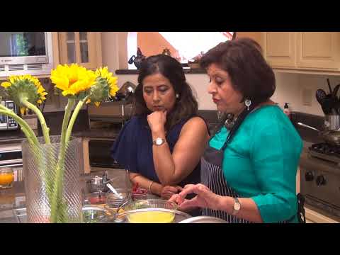 Kalpana Papiha TV recording for Timeless Recipes 1/4