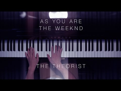The Weeknd - As You Are | The Theorist Piano Cover