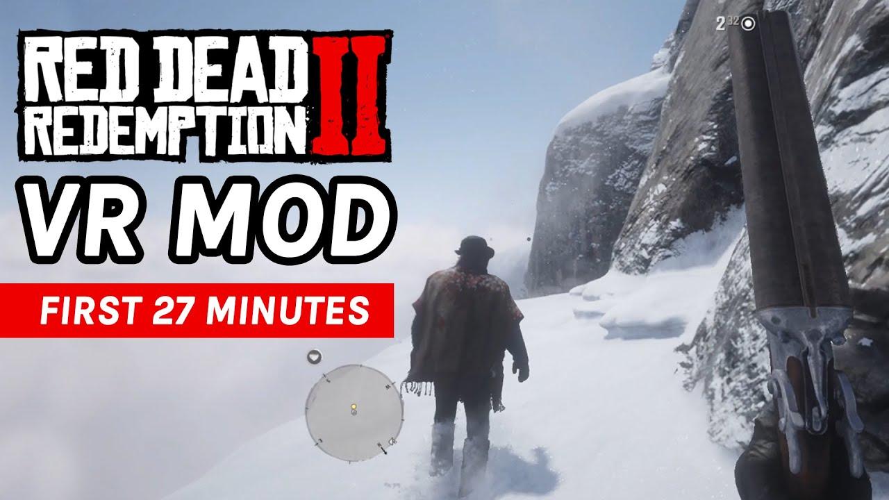 Вышел VR-мод для Red Dead Redemption 2