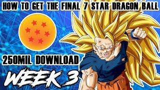THE FINAL 7 STAR DRAGON BALL | LETS MAKE A WISH! | 250MIL CELEBRATION | DRAGON BALL Z DOKKAN BATTLE
