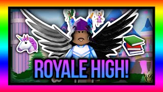 CHILL DAY IN THE LIFE OF A PRINCESS!🦄🌟 | Royale High Roblox 💖