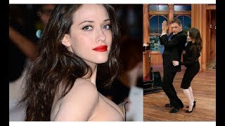 Kat Dennings and Craig Ferguson on The Late Late Show, Funny and Flirtatious, Compilation