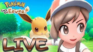 POKEMON LIVE FANGEN - Pokemon Lets Go Evoli & Pikachu
