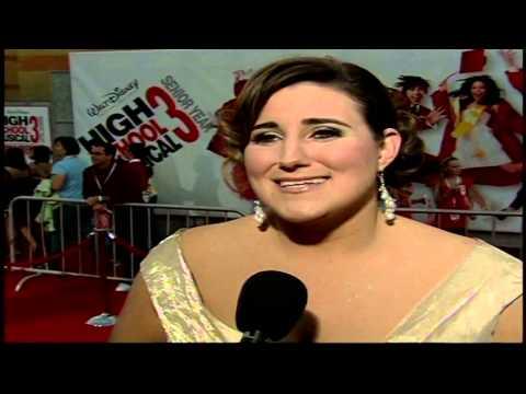"""High School Musical 3: Senior Year: Kaycee Stroh """"Martha Cox"""" Premiere Interview"""