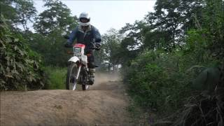オフロードバイク物語  練習編10  DT50モトクロス練習コースを走る
