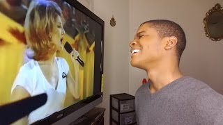 """CELINE DION - """"Power Of The Dream"""" 1996 Olympics (REACTION)"""