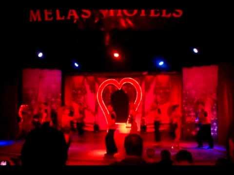 Melas Resort Hotel - Dancemix Show - Moulin Rouge - Rhythm Of The Night