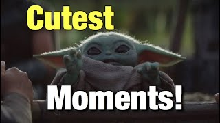 Every Baby Yoda Scene In Episode 5 The Mandalorian Cutest Moments!