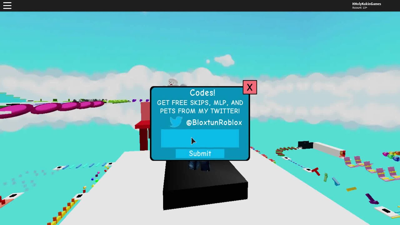 Roblox Mega Fun Obby Codes May 2020