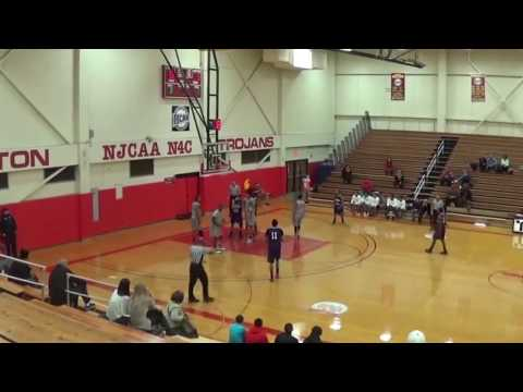 Rodney Smith Prairie State College Basketball Sophomore Highlights Part 1