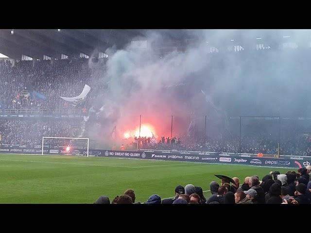 Sfeer club brugge-antwerp fc 22/10/2017 fc bruges Vak 313  like this video