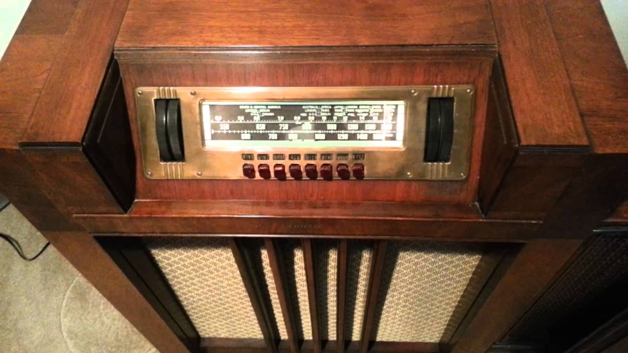 Bee Gees Playing On An Original 1939 Philco Radio Youtube