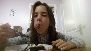 Eating sounds kaspas oreo cheese cake