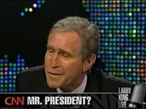 'George W. Bush' interview