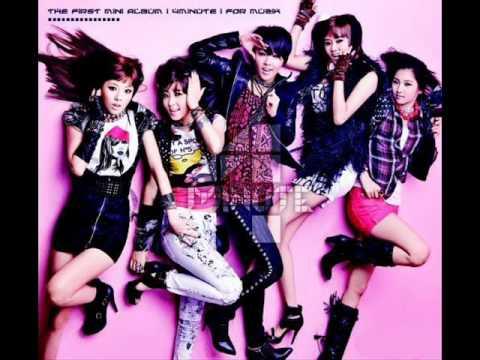 4Minute - Hot Issue (For Muzik) + Lyrics