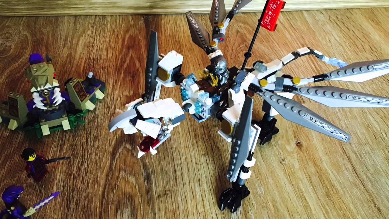 70748 Lego Ниндзяго Титановый дракон 2015 - YouTube