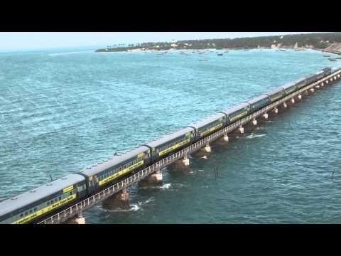 Train on Pamban