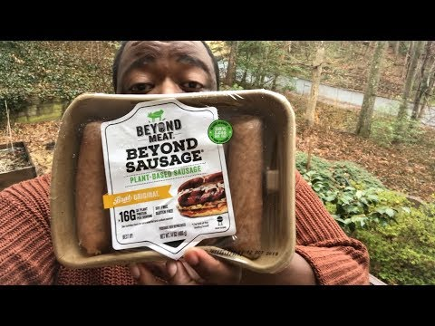 Vegan Sausage |Taste Test *Beyond Meat
