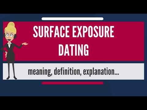 surface exposure dating quartz