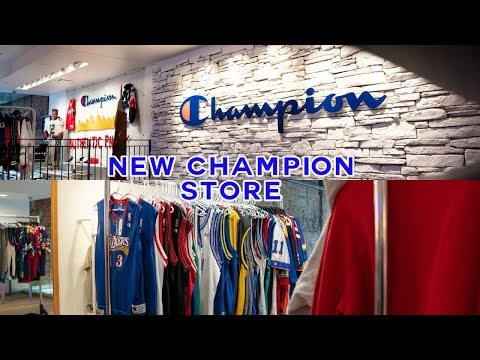 NEW CHAMPION STORE | Philadelphia