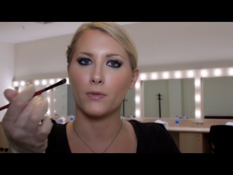 FX Make-up Artist Role Play - Binaural ASMR - Soft Spoken, Face Brushing, Latex Gloves
