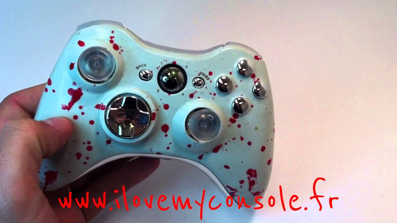 Palette Manette Xbox PS3 et Wii U by i love my console - YouTube