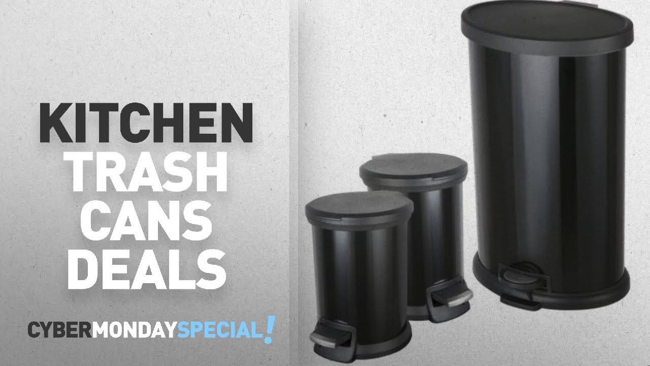 Walmart Top Cyber Monday Kitchen & Dining Trash Cans Deals ...