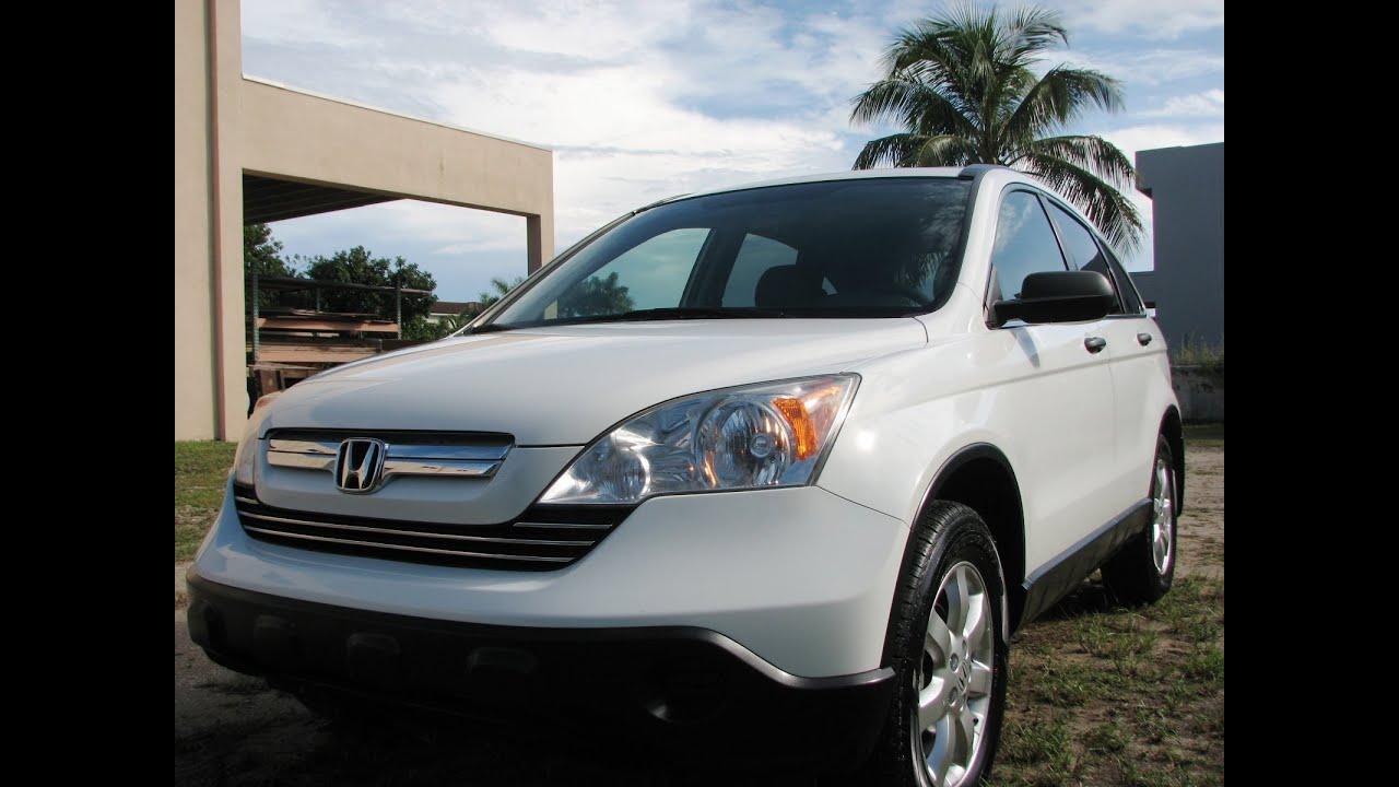 Honda CRV 2010 White  My Mint Car  YouTube