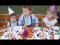 Happy Birthday Song Spanish, Cumpleaños feliz   Canción   Infantiles Español- LETSGOMARTIN