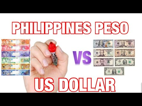 PHILIPPINE PESOS  VS  US DOLLAR