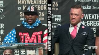 Mayweather vs McGregor World Tour: Los Angeles Press Conference Highlights thumbnail
