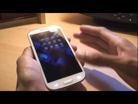 How to take Samsung Galaxy S3 Screen Shot / Capture / Print Screen