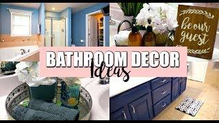 BATHROOM DECOR IDEAS | BELINDA SELENE