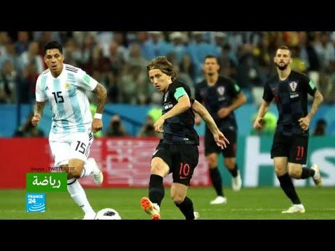 سقوط تاريخي للأرجنتين أمام كرواتيا في مونديال روسيا  - 13:22-2018 / 6 / 22