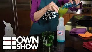 How to Make The Queen of Clean's Miracle Shower Cleaner | #OWNSHOW | Oprah Online