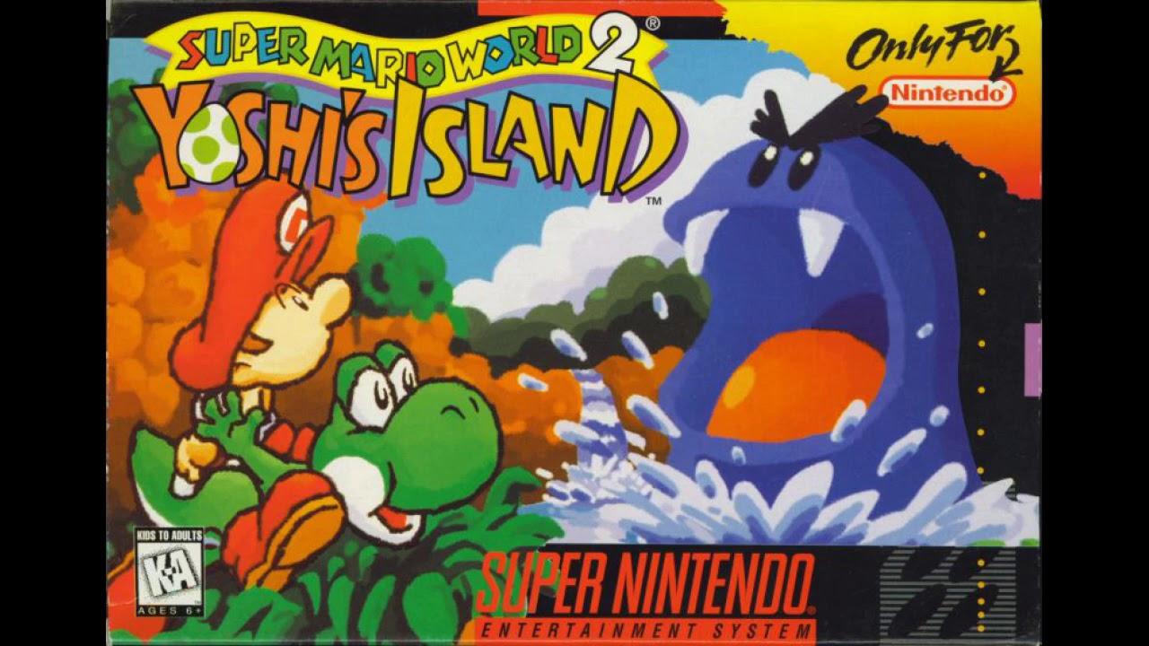 Yoshi's Island - Flower Garden (Yoshi's Unenthusiastic ...