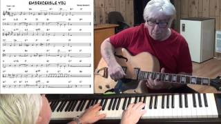 EMBRACEABLE YOU - Jazz guitar & piano cover ( George Gershwin )