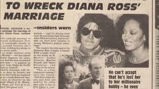 Michael Jackson Wanted To Marry Diana Ross