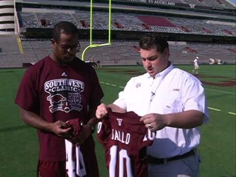 Texas A&M's Von Miller Talks About The Aggies New Jerseys