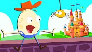 Humpty Dumpty | Humpty Dumpty Sat On A Wall | Nursery Rhyme