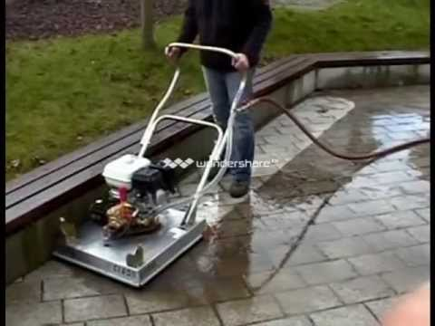 Deewan Easy Clean Paver Cleaning Device Ec 60 Youtube