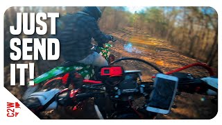This Is What Happens When You Explore On Supermotos!