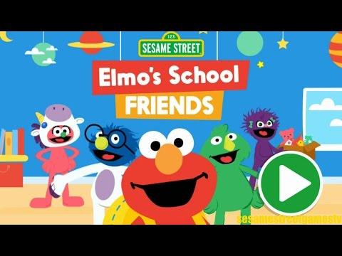 Sesame Street Elmo's School Friends Interactive Kids Games