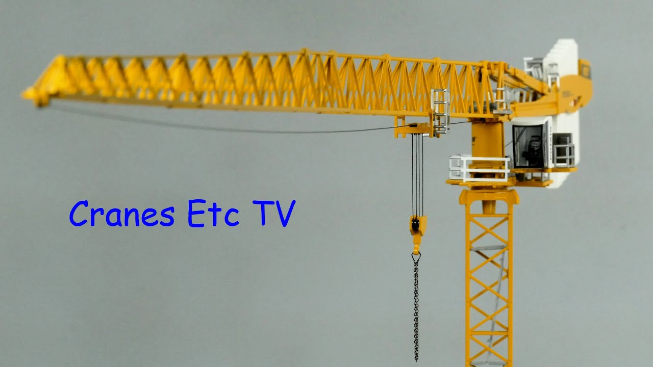 Conrad Potain Mdt 389 Tower Crane By Cranes Etc Tv Youtube